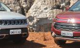 'Primos' da FCA: campeões de vendas, Fiat Toro e Jeep Compass têm novas versões