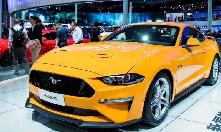 Parece que agora a Ford vai realmente trazer o novo Mustang para o Brasil em versão topo de linha  - Johannes Eisele/AFP