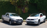 Testamos as picapes Fiat Strada Hard Working e a VW Saveiro Pepper. Qual delas te interessa?