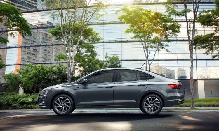 Modelo tem a linha de cintura suavemente elevada - Volkswagen/Divulgação