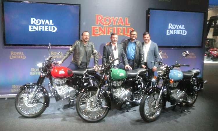 Royal Enfield Reddtich 500 - Téo Mascarenhas/EM/D.A Press