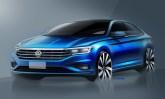 Volkswagen divulga esboços da sétima geração do Jetta