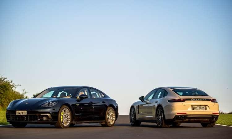 Sedã de luxo da marca alemã tem formas aerodinâmicas e esportivas - Porsche/Divulgação