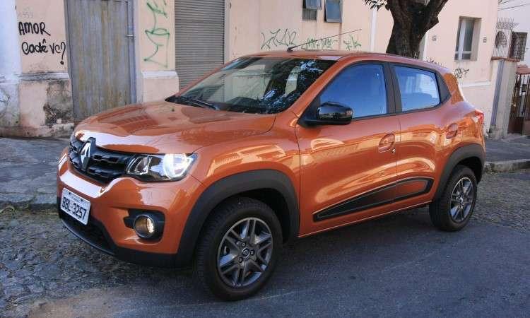Renault Kwid chegou fazendo barulho por causa do preço, mas não deslanchou - Edésio Ferreira/EM/D.A Press