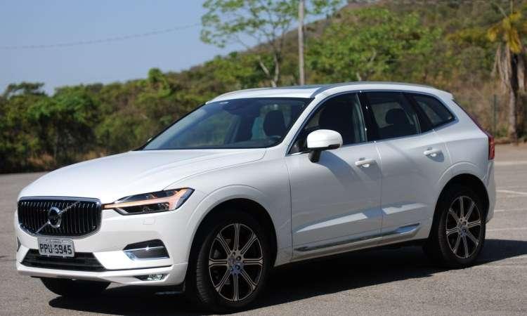O novo Volvo XC60 ganhou visual mais moderno - Leandro Couri/EM/D.A Press