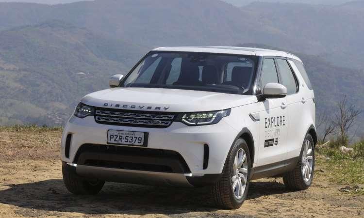 Quinta geração do Land Rover Discovery é completa - Juarez Rodrigues/EM/D.A Press