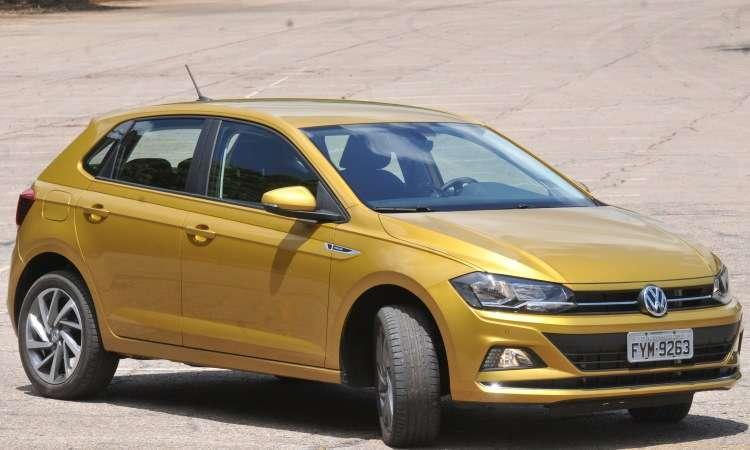 Nova geração do VW Polo usa a plataforma modular MQB AO, que se destaca pela segurança - Jair Amara/EMl/D.A Press
