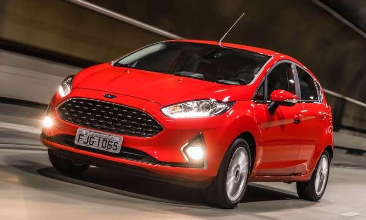 Ford Fiesta passou por discreta reestilização e  manteve o câmbio PowerShift - Pedro Bicudo/Ford/Divulgação