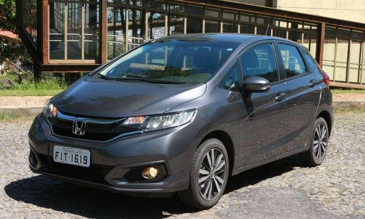 Honda Fit atingiu meia-vida com pequenas mudanças no visual - Edésio Ferreira/EM/D.A Press
