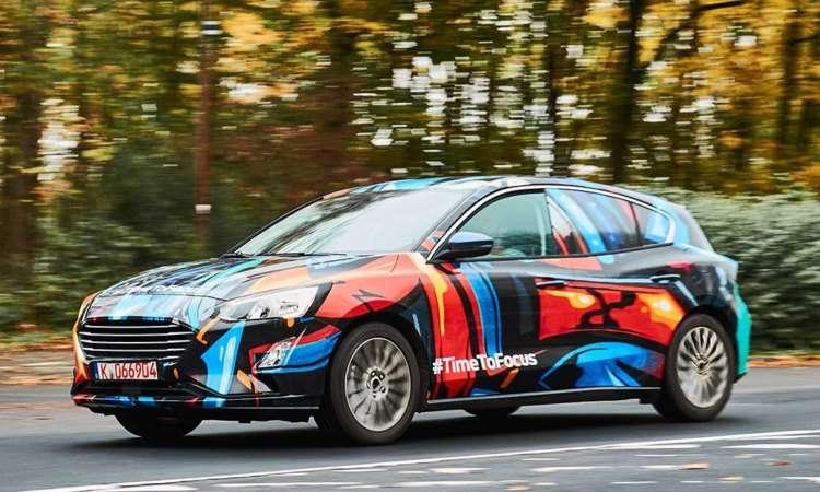 Novo Ford Focus deve ser apresentado no Salão de Detroit, em janeiro - AutoExpress/Reprodução da internet