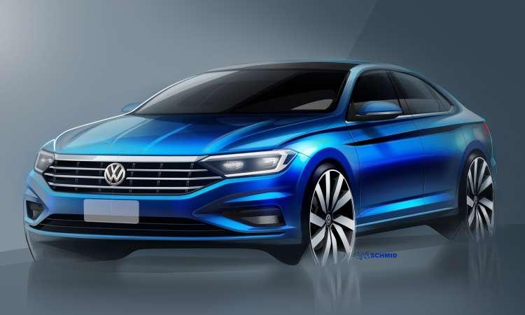 O novo Volkswagen Jetta vai chegar um pouco maior e mais sofisticado  - Volkswagen/Divulgação