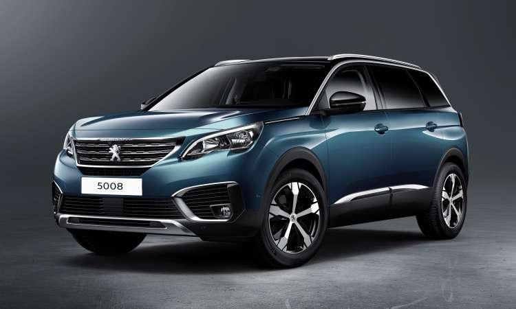 A Peugeot confirmou a chegada do crossover grande  5008 no Brasil para o primeiro semestre de 2018 - Peugeot/Divulgação