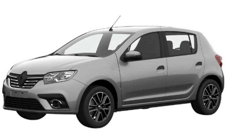 Renault Sandero vai ganhar cara nova, seguindo a identidade visual da marca - INPI/Reprodução da internet