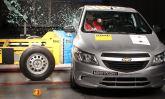 Com reforços estruturais, Chevrolet Onix ganha 3 estrelas em nova avaliação do Latin NCAP