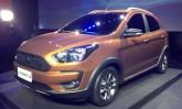 Versão aventureira Freestyle revela como será o Ford Ka reestilizado