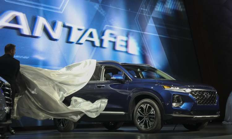 Novo Hyundai Santa Fe - Drew Angerer/AFP