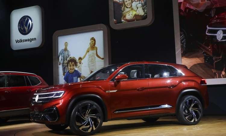 O SUV VW Atlas foi criado para o mercado norte-americano - Drew Angerer/AFP