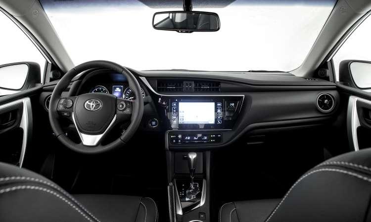 O interior com acabamento preto proporcionou aspecto mais sofisticado - Toyota/Divulgação