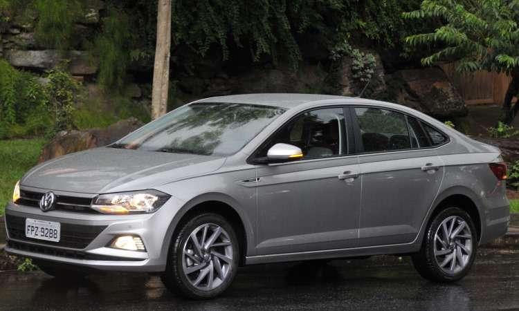 VW Virtus chegou ao mercado em fevereiro e já no fim de março liderava o segmento dos sedãs compactos premium - Juarez Rodrigues/EM/D.A Press