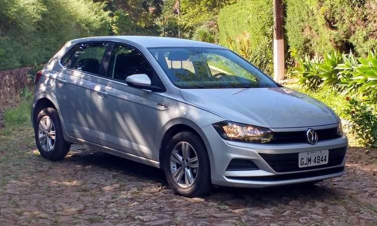 O hatch compacto VW Polo tem se dado bem na disputa com o Fiat Argo e já é o quarto modelo mais vendido no país - Pedro Cerqueira/EM/D.A Press