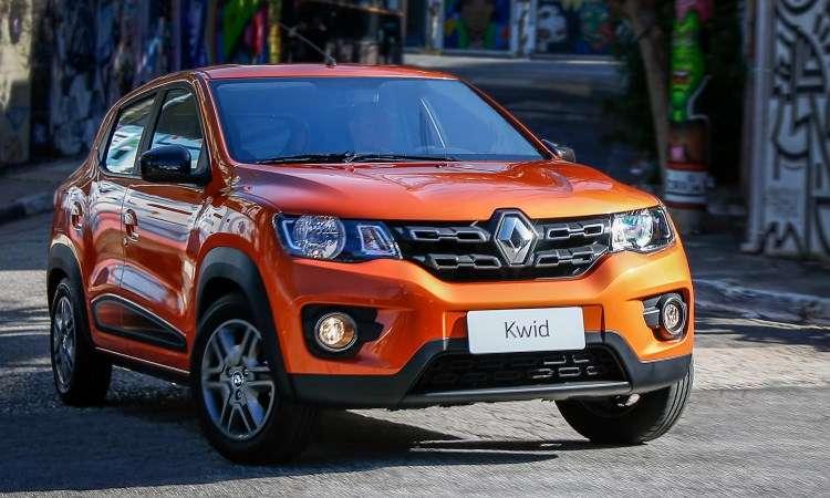 Neste primeiro trimestre, o Renault Kwid está na oitava colocação, com13.687 emplacamentos - Renault/Divulgação