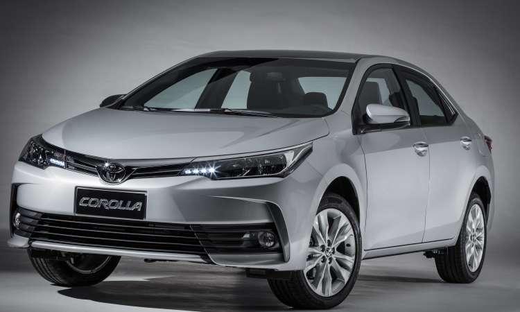 O insuperável Toyota Corolla continua na liderança entre os sedãs médios - Toyota/Divulgação