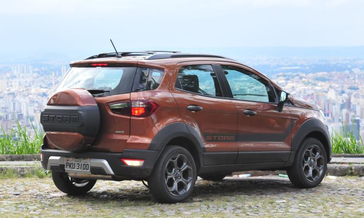 SUV de mochila: estepe na tampa traseira é uma 'assinatura' do modelo - Gladyston Rodrigues/EM/D.A Press