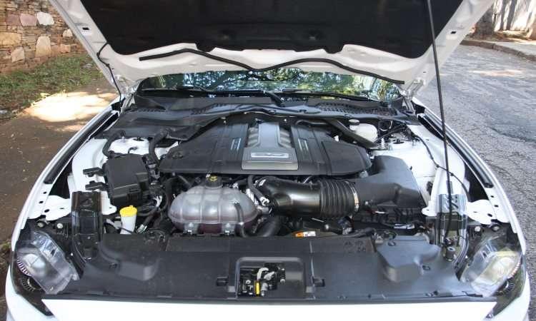 Motorzão V8 5.0 foi batizado como Coyote - Edésio Ferreira/EM/D.A Press