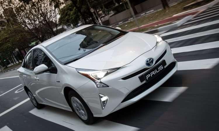 Toyota Prius: a partir de R$ 126.600 - Toyota/Divulgação