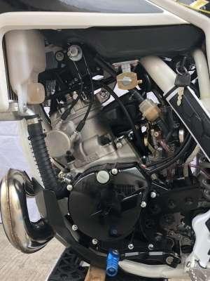 O motor do tipo dois tempos tem misturador automático de óleo - MXF/Divulgação
