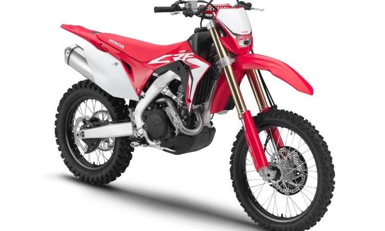 Para as largadas no motocross, a CRF 450R tem controle de partida - Honda/Divulgação