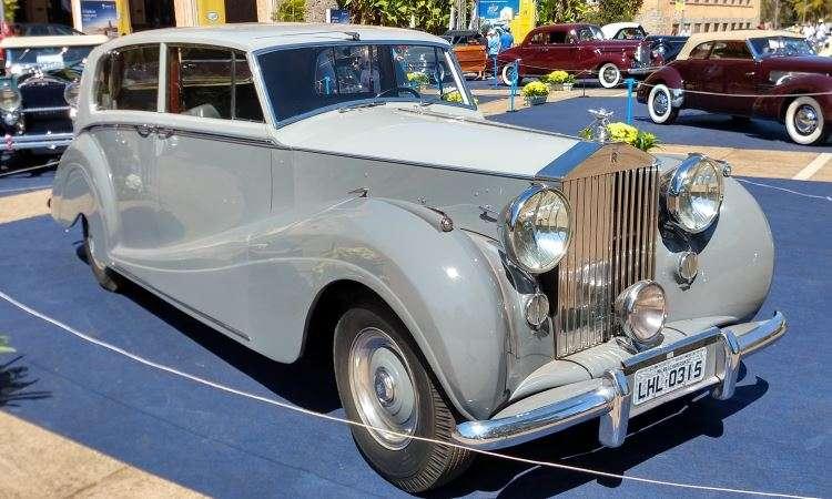 Rolls-Royce Silver Wraith 1953 - Pedro Cerqueira/EM/D.A Press