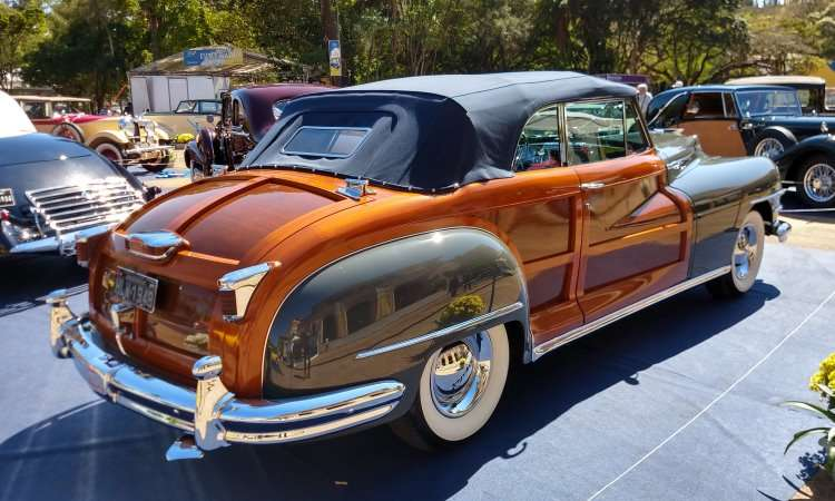 Chrysler Town and Country 1947 - Pedro Cerqueira/EM/D.A Press