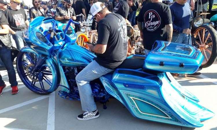 Customização das Harley-Davidson transforma os modelos radicalmente - Téo Mascarenhas/EM/D.A Press