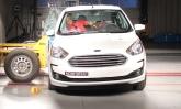 Novo Ford Ka recebe três estrelas em proteção para adultos e quatro para crianças