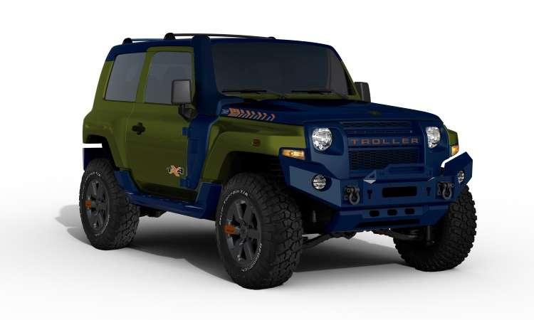 O conceito TX4 será apresentado no Salão do Automóvel de São Paulo e poderá vir a ser uma série especial - Troller/Divulgação