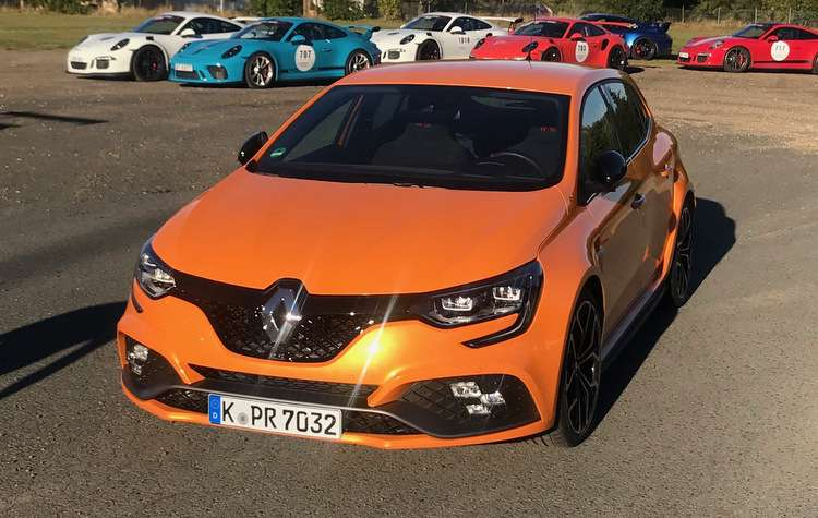 Renault revela o Megane R.S.