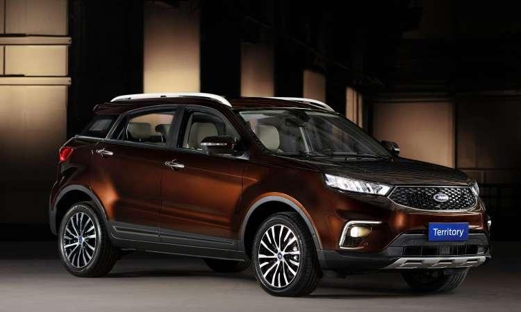 O SUV médio Territory será apresentado como conceito, mas tem tudo para ser produzido em série e chegar ao Brasil - Ford/Divulgação