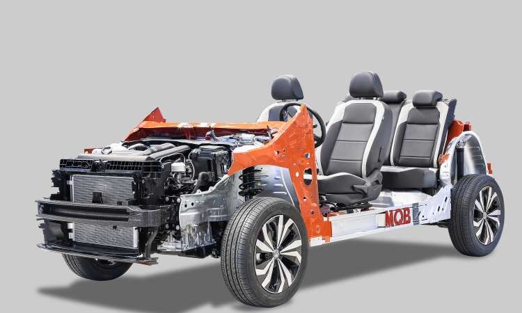 O novo SUV é construído sobre a plataforma modular MQB, a mesma do Polo e Virtus - Volkswagen/Divulgação
