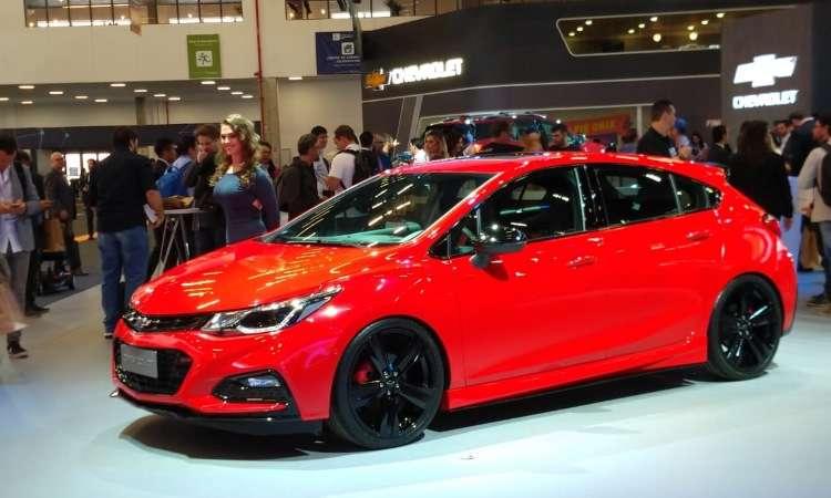 Chevrolet Cruze SS é a versão mais apimentada do modelo - Pedro Cerqueira/EM/D.A Press