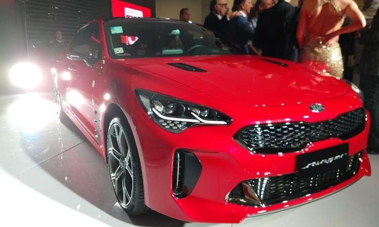 O Kia Stinger foi lançado recentemente no mercado brasileiro - Pedro Cerqueira/EM/D.A Press