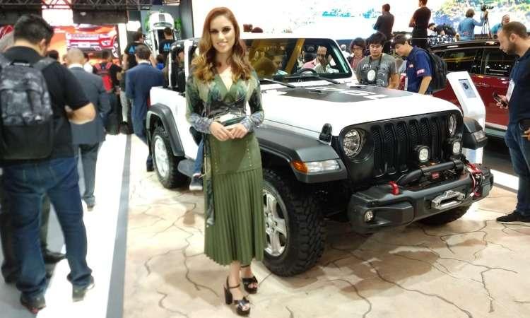 Destaque no estande da Jeep é o novo Wrangler em diferentes versões, como a Sport - Pedro Cerqueira/EM/D.A Press