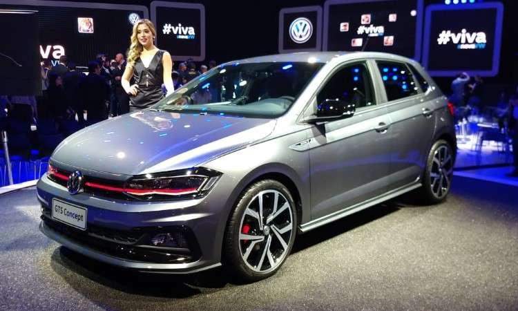 O Polo GTS também chegará ao mercado, porém a VW não revelou qual a motorização - Pedro Cerqueira/EM/D.A Press