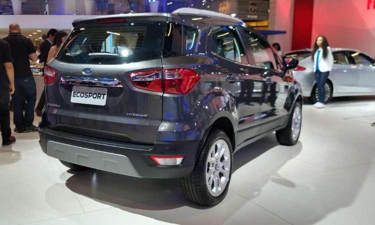 Finalmente, o Ford EcoSport deixa de ter o estepe pendurado na traseira - Pedro Cerqueira/EM/D.A Press