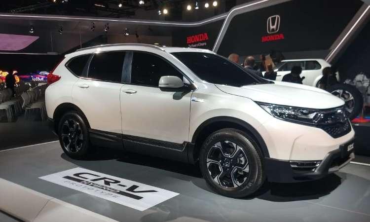 Versão híbrida do Honda CR-V só será lançada na Europa em 2019 - Pedro Cerqueira/EM/D.A Press