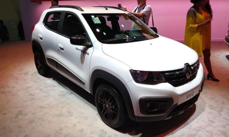 A Renault apresenta também o Kwid Outsider, versão aventureira - Pedro Cerqueira/EM/D.A Press