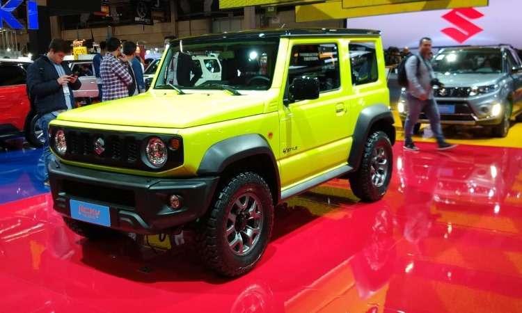 Nova geração do Suzuki Jimny será importada do Japão a partir do segundo semestre de 2019 - Pedro Cerqueira/EM/D.A Press
