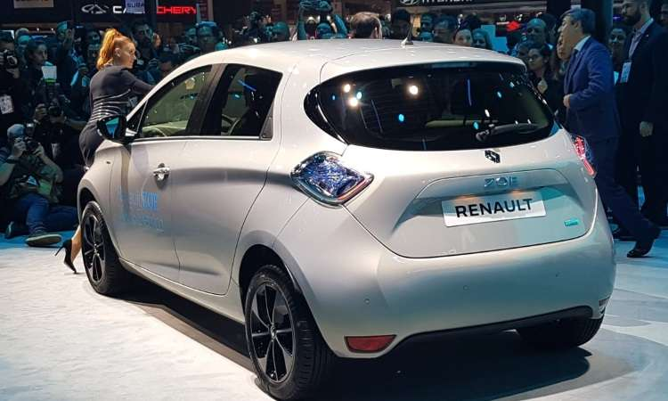 Renault Zoe tem autonomia de 300 quilômetros e 92cv de potência - Pedro Cerqueira/EM/D.A Press