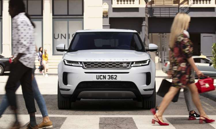 O SUV compacto continua chamando a atenção por seu design moderno - Land Rover/Divulgação