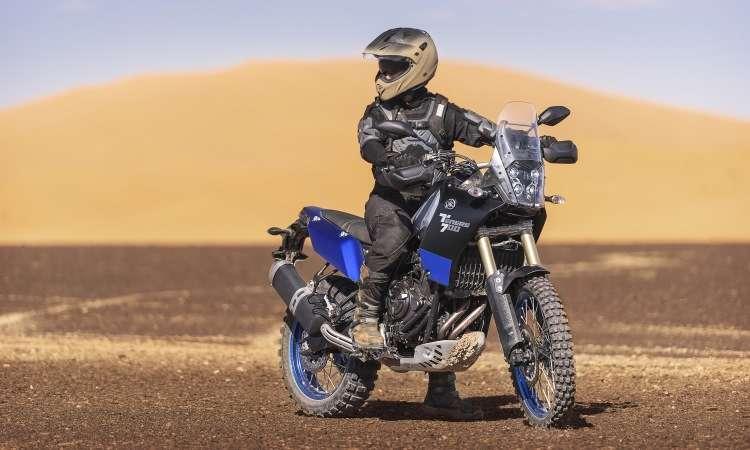 A Ténéré 700 é compacta para proporcionar maior agilidade - Yamaha/Divulgação